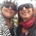 Bling Rider owners Melissa Duncan and Linda Linogon sell colorful fashion accessories and clothes.