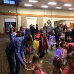 Malmstrom hosted annual father-daughter dance Saturday. This year, organizers added mother-son to the dance.