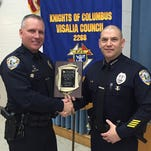 Knights of Columbus recognizes public safety officers