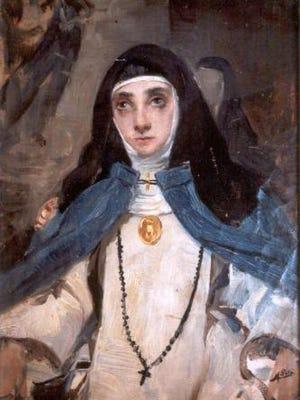 Maria Jesus de Agreda, 17th century nun.