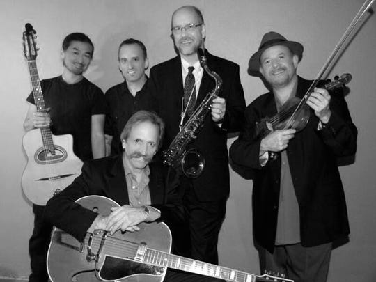 The Djangophiles are a gypsy jazz and Parisian swing band.
