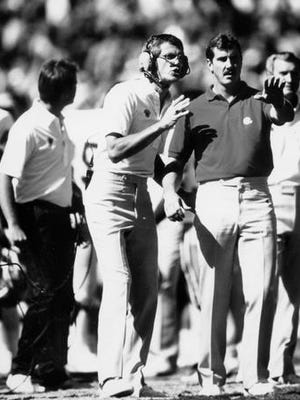 Larry Marmie's final game as ASU football coach was a 37-14 win over Arizona in the 1991 Territorial Cup.