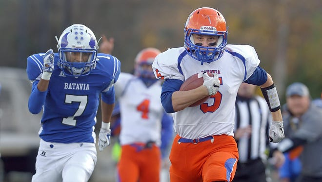 Livonia's Matt Hyde and teammates charge into big Livingston County league matchup against Hornell, 7:30 p.m. Saturday