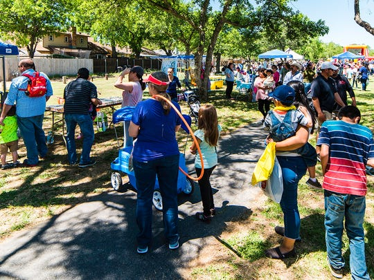 Hundreds of people enjoyed a plethora of family-friendly activities during the 27th annual Healthy Families San Angelo's Children's Fair Sunday, April 23.