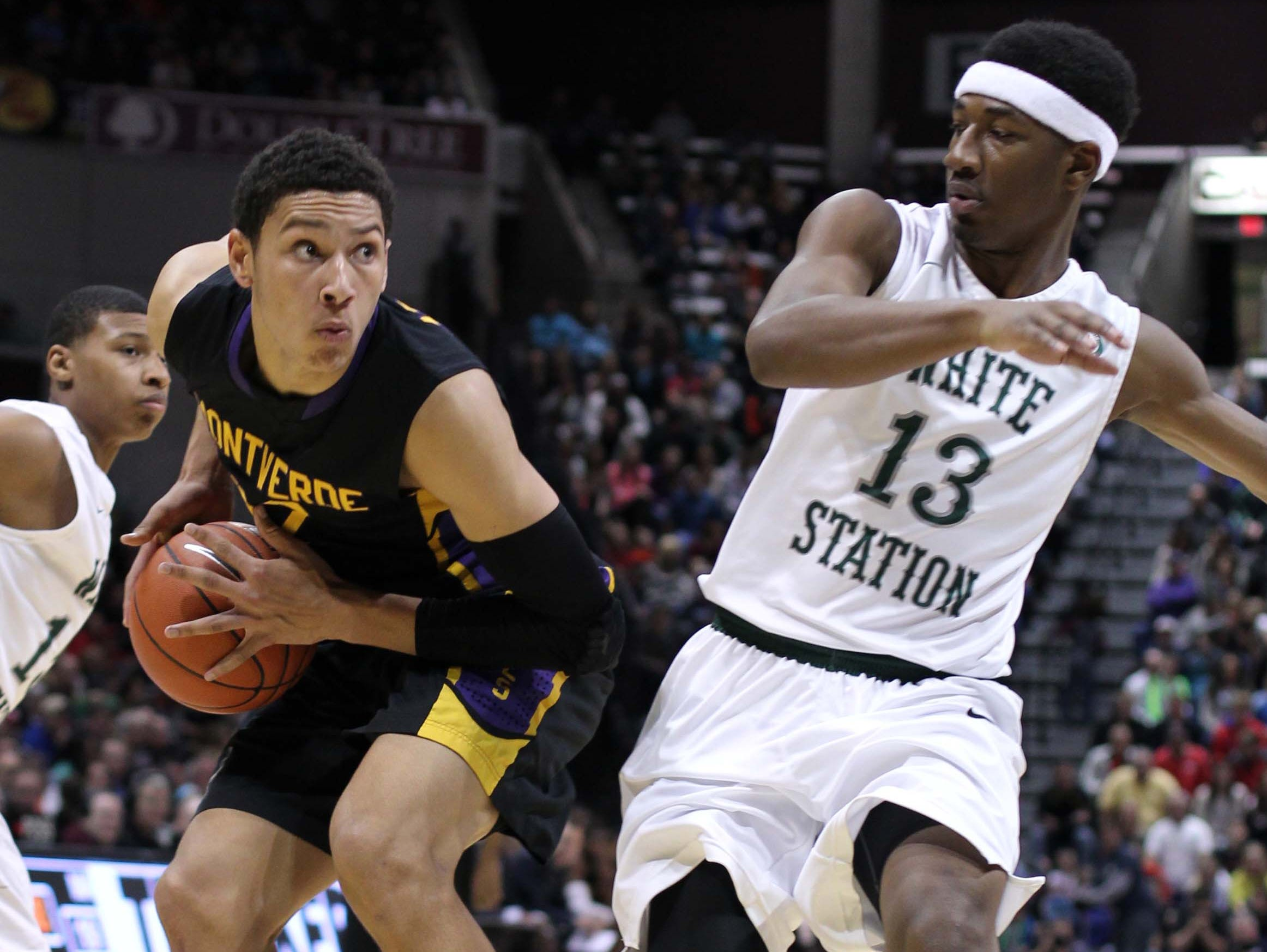 Montverde's Ben Simmons, left, appeared in the 2014 Bass Pro Tournament of Champions at JQH Arena.