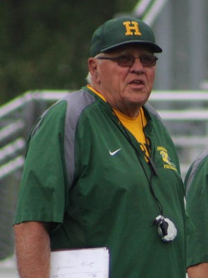 Harrison High School will formally dedicate the new 'Harrington Athletic Complex' archway honoring the only football coach the school has ever had prior to Friday's first home game.