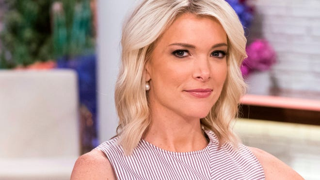 """Megyn Kelly poses on the set of her new show, """"Megyn Kelly Today"""" at NBC Studios on Sept, 21, 2017, in New York."""