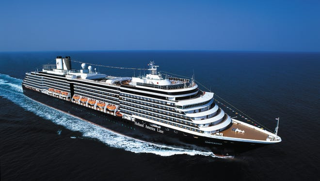 Holland America's Oosterdam is the second of four Vista Class vessels at the line.