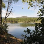 Prescott hike has water, cool pines