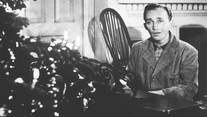 """Bing Crosby kicked off the all-Christmas format on WLDB-FM (93.3) with """"It's Beginning to Look a Lot Like Christmas."""""""
