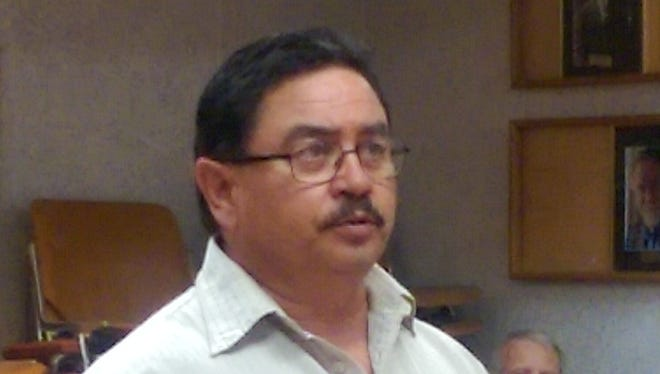 Anthony Gutierrez, excecutive director for the Central Arizona Project Entity.