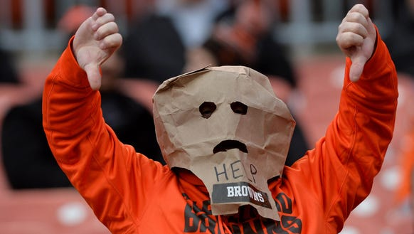 Dec 6, 2015; Cleveland, OH, USA; A Cleveland Browns