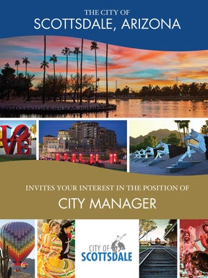 Scottsdale officials have launched a national search for a new city manager and on March 24 released a six-page pamphlet calling for applications.