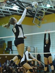 Stefanie Jankiewicz had a team-high 22 kills to lead Harrison to its third consecutive FPS championship Thursday night.