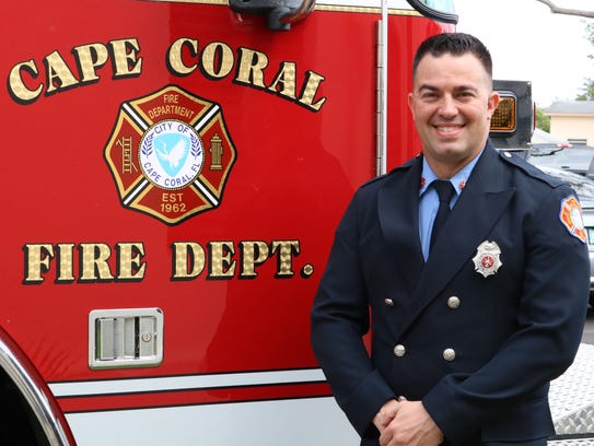 Cape Coral firefighter Michael Camelo Jr. died Thursday