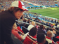 Even Mick Jagger was in the stands at the FIFA World Cup final match in Rio de Janeiro on July 13, 2014.