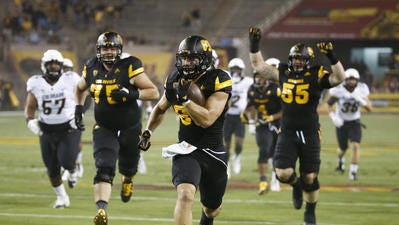 ASU tight end Kody Kohl is having a breakout junior season that includes a fumble recovery and 28-yard return for a touchdown against Colorado.