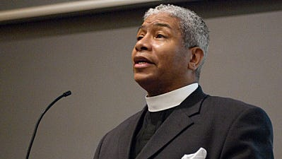 The Rev. Eugene Rivers III, a Pentecostal minister who has advised both the Clinton and Bush administrations on faith-based issues, will be among the speakers at Sunday's convocation on religious freedom at Southern Utah University in Cedar City.