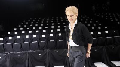 Carolina Herrera named featured designer for fashion show
