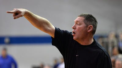 Parkway coach Mike Guess directs his team in a previous game.