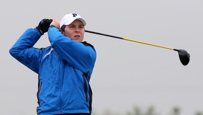 Pingry's Jake Mayer won the Somerset County Tournament individual title for the third-straight year on Monday.