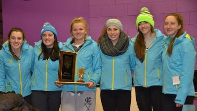 Birmingham Marian recently captured the Catholic League championship meet. Team members included Breann Lunghamer, Paige Weymouth, Caroline Forester, Rachel Perez-Cruet, Isabella Borgula and Madison Rosiek. Lunghamer won slalom and placed second in giant slalom.