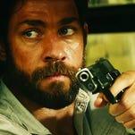 "From left, David Denman, John Krasinski, Pablo Schreiber and Max Martini in ""13 Hours: The Secret Soldiers of Benghazi."""