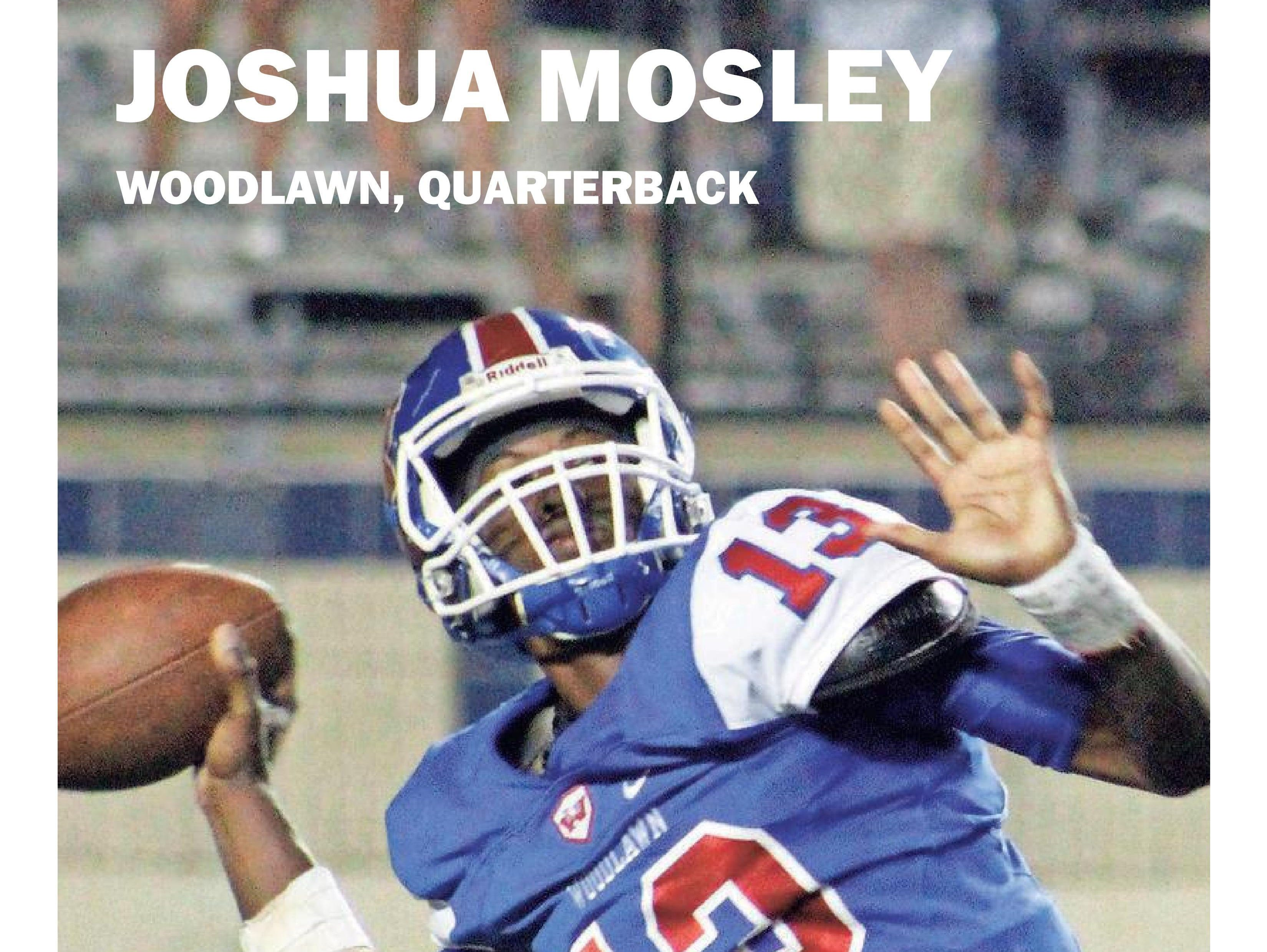 Joshua Mosley collected Week 6 Player of the Week honors.