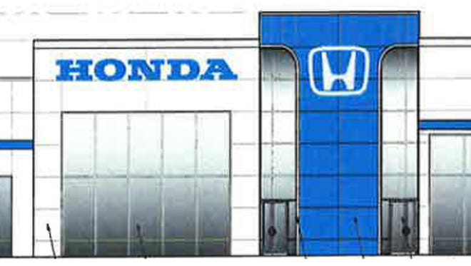 A 35,000 square foot Honda dealership is planned at the corner of Nashville Pike and Gorden Crossing in Gallatin.