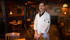Owner Gary Schoelkopf in the dining area of the Pour