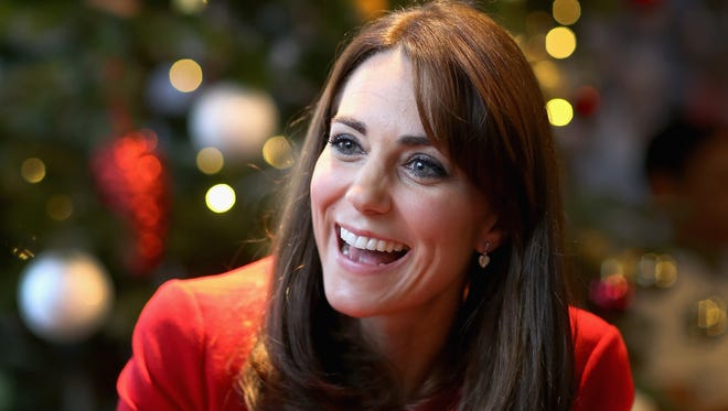 Duchess Kate attends a party at Anna Freud Center in London on Dec. 15, 2015.