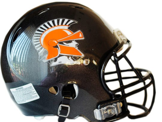 York Suburban football helmet.