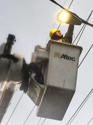 In this file photo, Guam Power Authority Line Repair