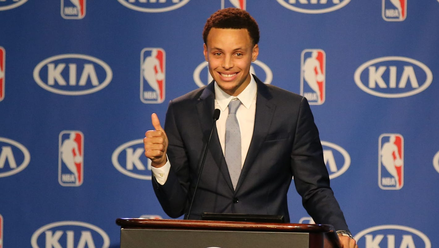 Stephen Curry's road to NBA MVP not an easy one