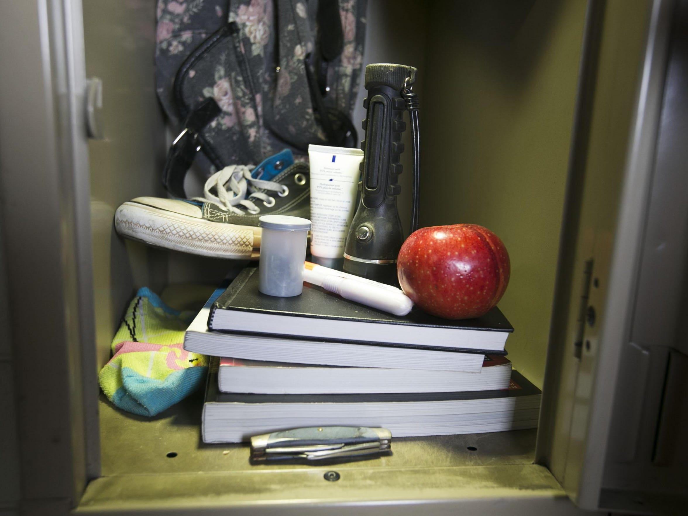 A few items students have used to conceal drugs at
