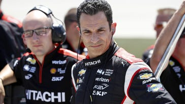 Castroneves, Patrick inspired by Indy 500's checkered flag for different reasons