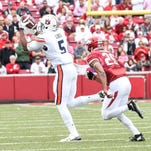 Auburn receivers wants to forget dropped passes in last year's loss at Arkansas
