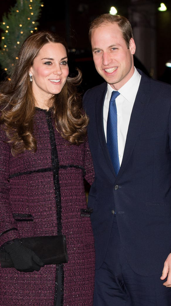 The Duke and Duchess in the Big Apple on Dec. 7, 2014.