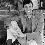 "In this Jan. 11, 1982 file photo, actor Leonard Nimoy poses for a photo in Los Angeles. Nimoy, famous for playing officer Mr. Spock in ""Star Trek"" died Friday, Feb. 27, 2015 in Los Angeles of end-stage chronic obstructive pulmonary disease. He was 83."