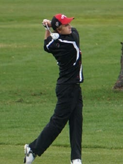 SPASH junior Max Bancker hopes to help the Panthers bring home a Division 1 state championship. Competition takes place Monday and Tuesday at University Ridge Golf Course in Madison.