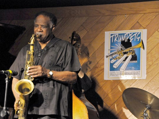 Famed saxophone player Houston Person and his quartet