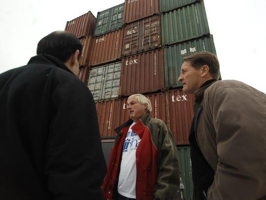 Feb. 3,2010:  Volunteers from the International Humanitarian