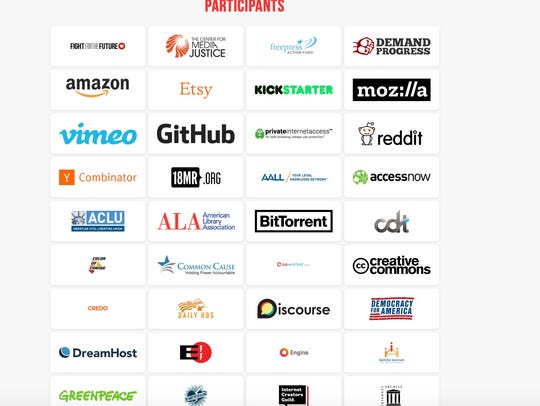 Some of the companies and organizations participating