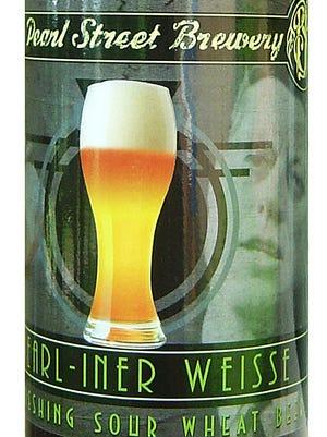 Pearl-Iner Weisse, from Pearl Street Brewery in La Crosse, Wis., is 4.5% ABV.