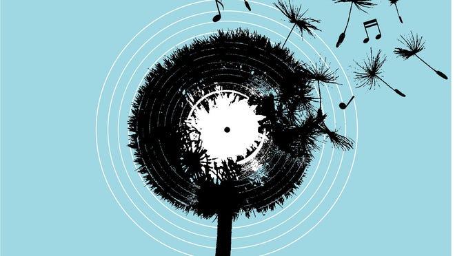 Lubbock Music Now 2020 album cover.