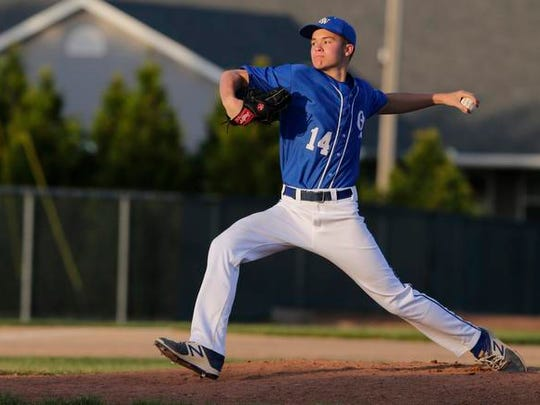 Pitcher Riley Frey is thankful for the three years he played at Oshkosh West and that he can continue playing at UW-Milwaukee.