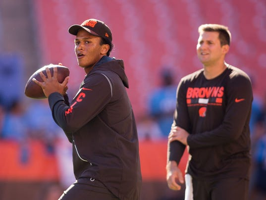 USP NFL: TENNESSEE TITANS AT CLEVELAND BROWNS S FBN CLE TEN USA OH