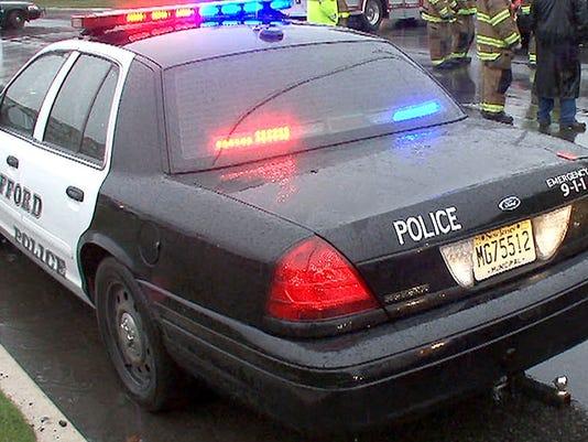Stafford police car