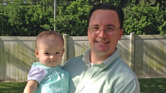 Daddy Duty columnist Tim Walters can't think of a better Father's Day present than some time with his daughter Isabella and his wife Charlotte.