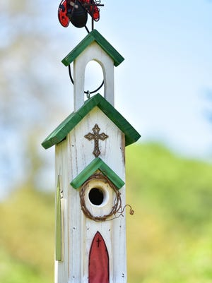 One of many church designs at For the Birds Realty.